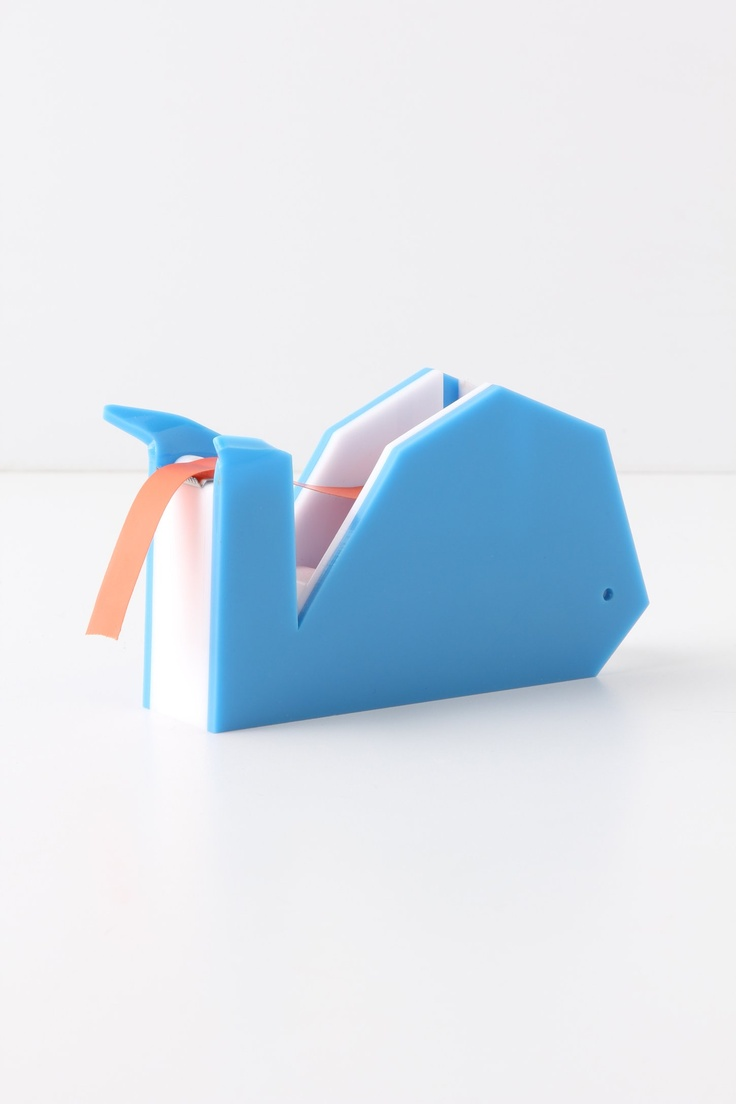 Whale Tape Dispenser - Anthropologie.com my daughter would love this