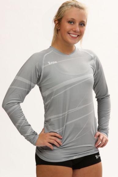 Monochrome Long Sleeve Jersey   1111.97   Grey