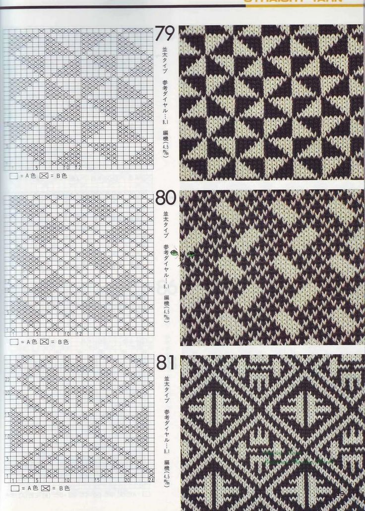98 best Knitting jacquard images on Pinterest | Knitting charts ...