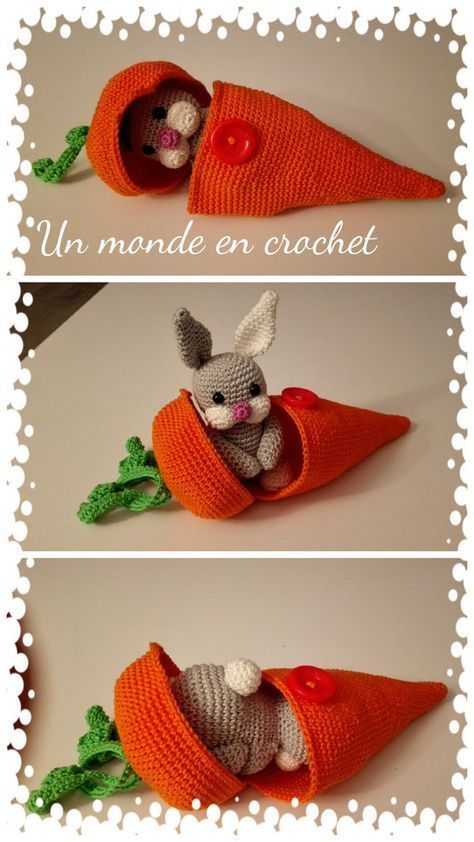 Little rabbit in his carrot (PDF in french)