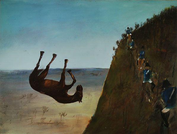 The slip 1947 Sidney Nolan
