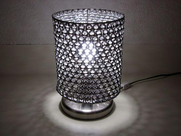 pop tab lamp shade