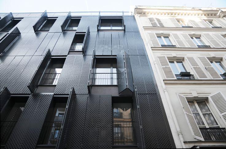 AVENIER CORNEJO architectes 10 logements sociaux, Paris RIVP