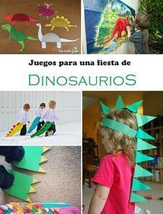 decoraciones de dinosaurios para fiestas - Buscar con Google                                                                                                                                                                                 Más