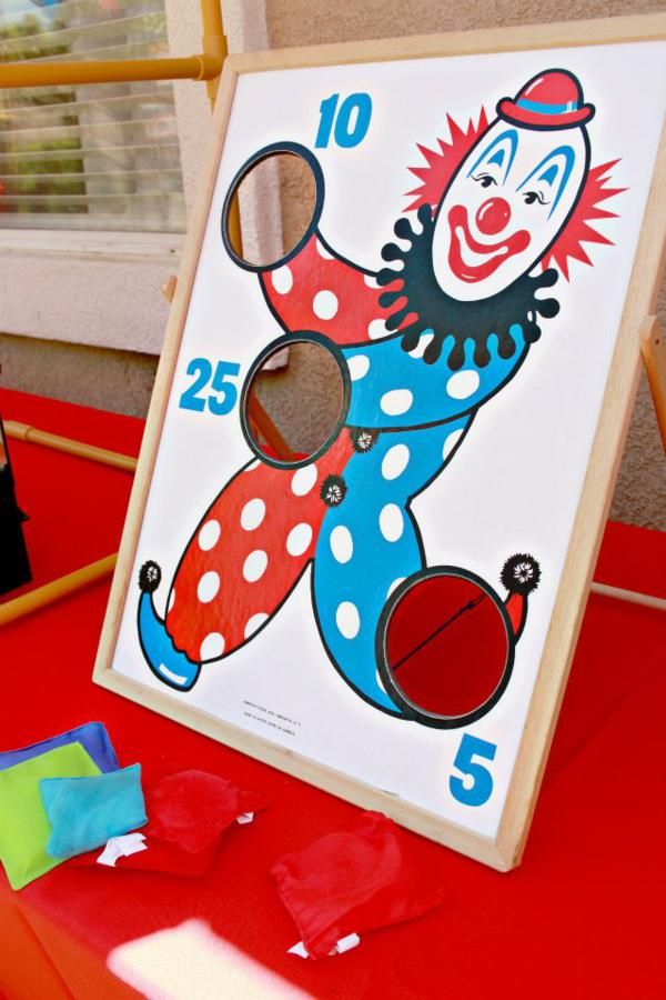 Circus game...yup...I'd use it in play therapy!  Can be adapted in so many ways...and extended out to other play therapy activities.  Fun for group, as well!