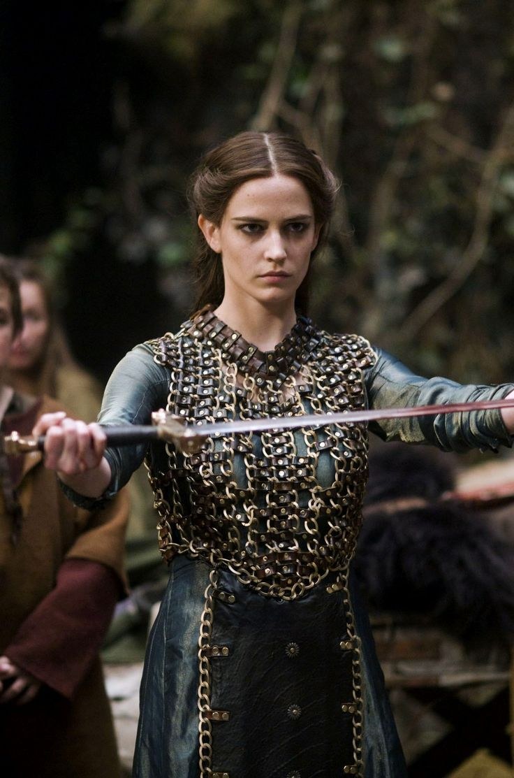 Give your fight to the Lord. He will fight for you. Eva Green in Camelot
