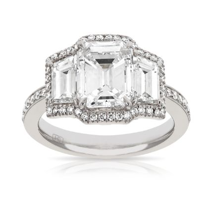 Platinum Engagement Ring | Hardy Brothers
