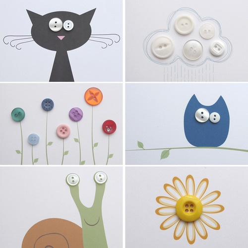 Notecards by Milomade - could do something like this with kids