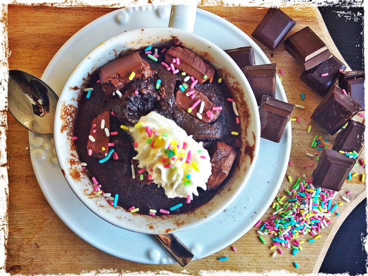 15 min Molten Chcolate Mug Cake
