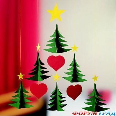 Наряжаем люстру, создаём красивые подвески и композиции - Новый год стучится в двери - Как украсить офис, магазин, гараж – везде должен быть виден любимый праздник наш - Форум-Град