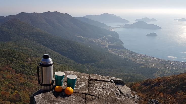 Sunday morning hike Bukbyongsan Geoje island South Korea #hiking #camping #outdoors #nature #travel #backpacking #adventure #marmot #outdoor #mountains #photography