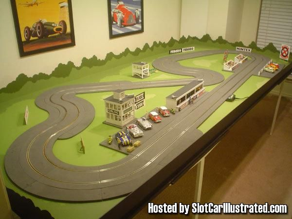 1048 Best 1 32 Slot Car Layouts Images On Pinterest Models Car