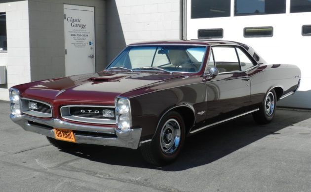 One Owner 53 Years 1966 Pontiac Gto In 2020