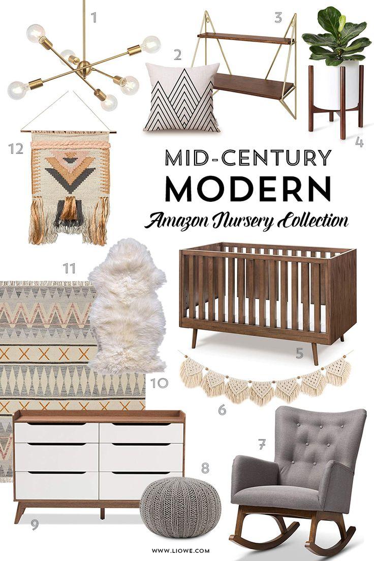 Mid-Century Modern – Amazon Nursery Collection. Mi…
