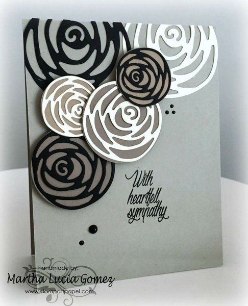 ROSE KNOT 3 piece die set - Gina Marie Designs