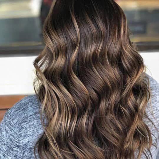 dunkelbraune Haare Ideen #schokoladenbraunhaar - #