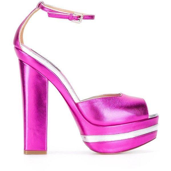 aae8809e691f med 855 ❤ Dsquared2 Ziggy Toe Öppna skor Polyvore Rem Sandaler på rosa  sandaler gillade Sandalsankle t0q0faEgw