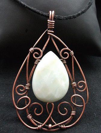 Serenity pendant | JewelryLessons.com