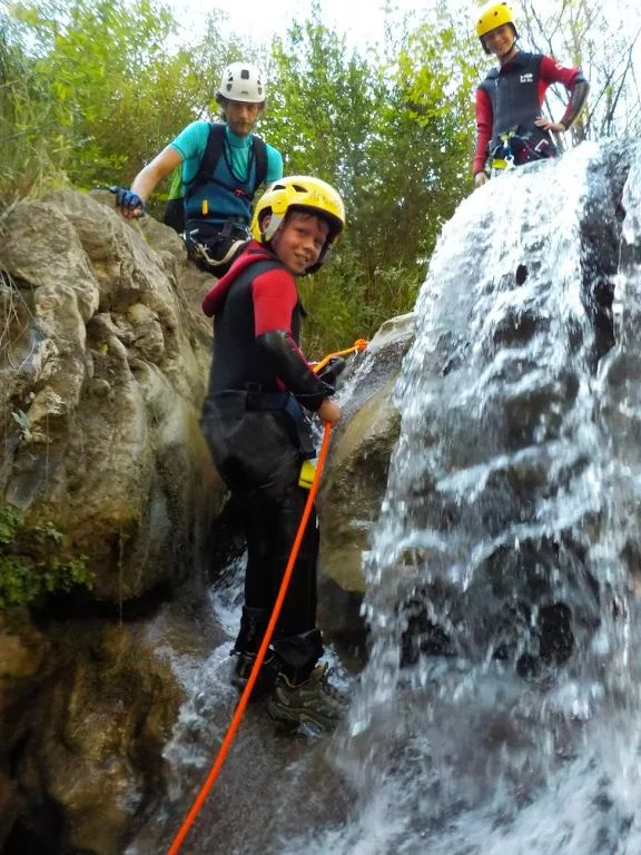 Everyone can learn to abseil on the Active Family Montenegro Holiday