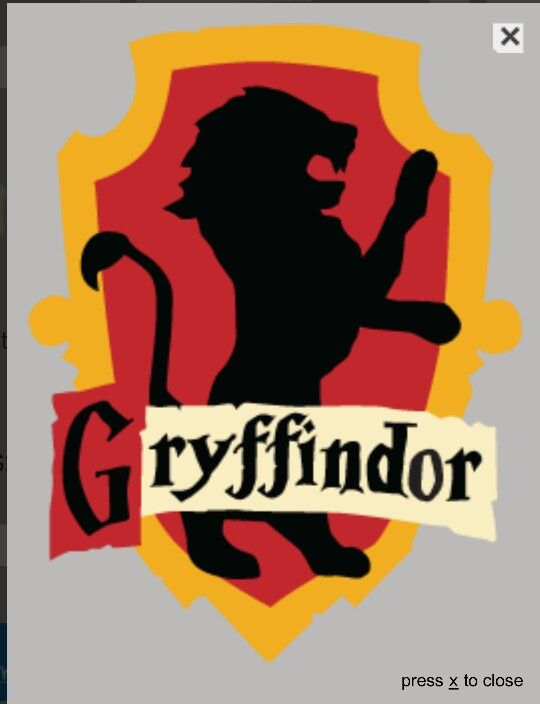 how to draw the gryffindor crest