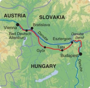 Cycling the Danube - Vienna to Budapest