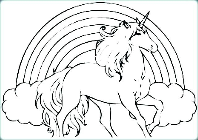 Coloring Pages Of Unicorns Free Printable Colouring Pages Unicorns