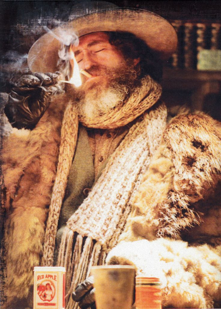 "Favourite character in the movie ""The Hateful Eight."""