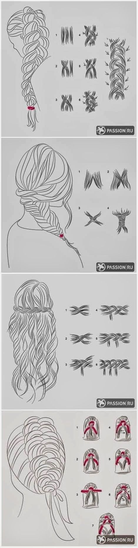 Gorgeous DIY Hairstyles.