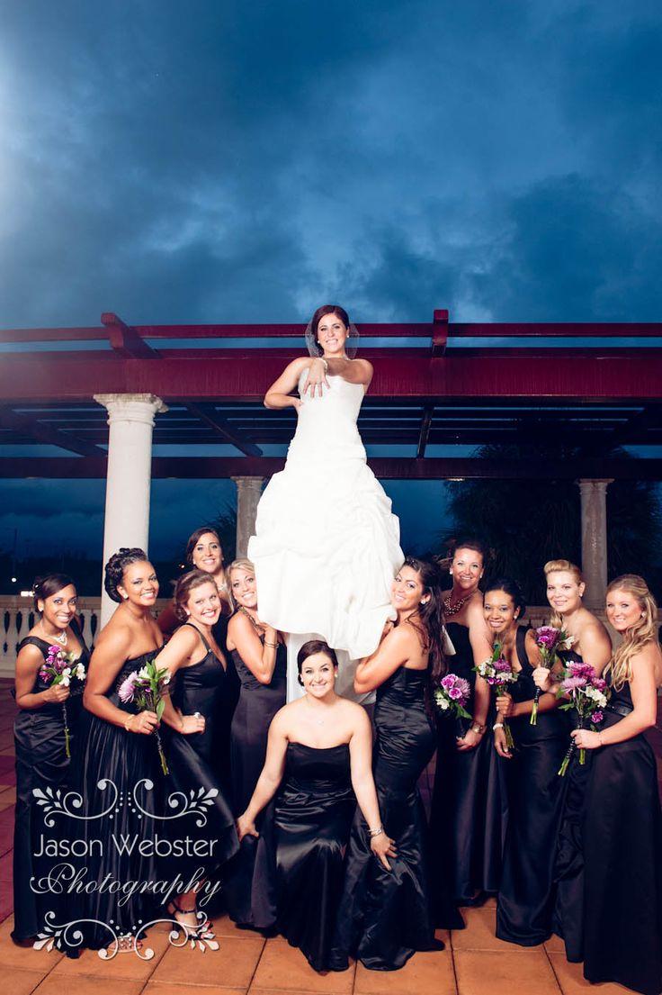 Cheerleader wedding, cheer coach wedding, cheer stunt,  www.jasonwebsterphotography.com