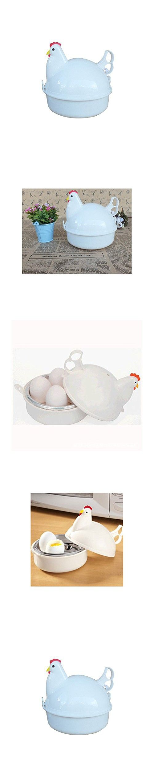 SIO DIY Microwave Egg Boiler Egg-steaming Cooker Egg Poacher