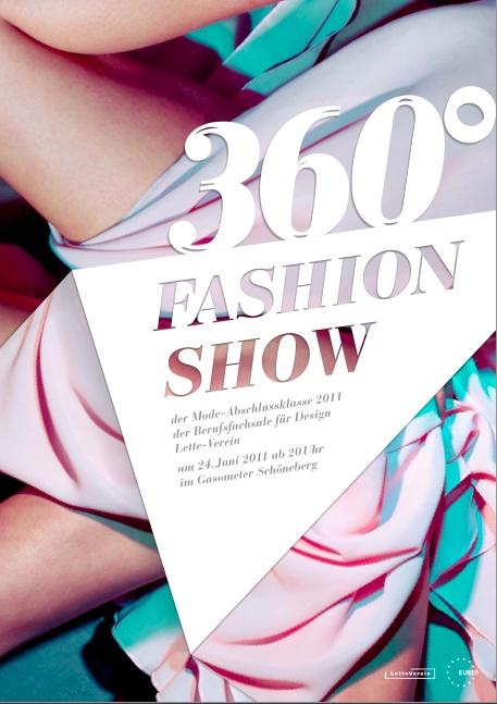 360° – Fashion Show Poster