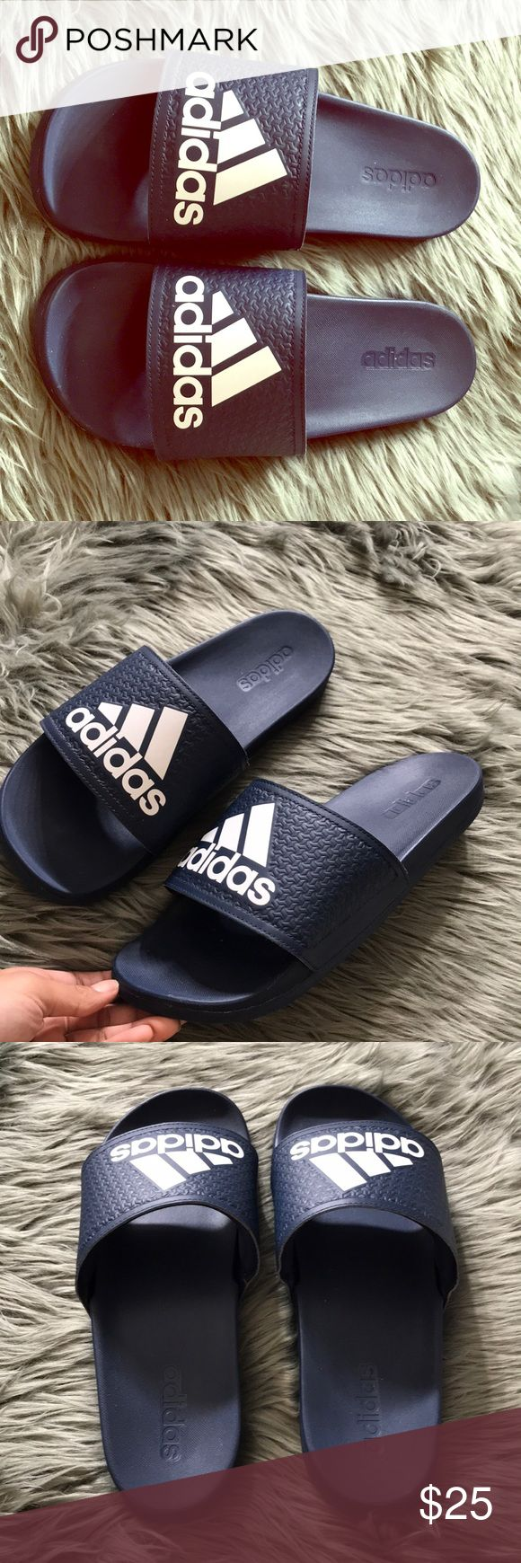 Adidas Sandals Navy blue original adidas sandals adidas Shoes Sandals