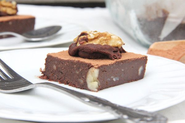 Raw Afghan Brownie 2 c organic walnuts (soaked, rinsed and well drained or dehydrated) 2 c medjoul dates ¾ c raw cacao powder ½ c brazil nuts/almonds OR caramelised/chocolate buckinis OR raw cacao nibs OR crushed organic corn flakes (for an old school style afghan) ¼ tsp organic sea salt ½ tsp vanilla powder