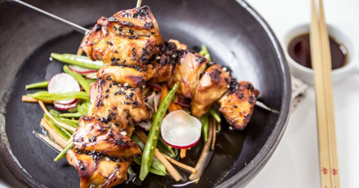 Whether you cook this on a bbq or under the grill like we do... it's really speedy and yet so unbelievably tasty. The sale you can make in the time it takes for the chicken to cook... an absolute winner.