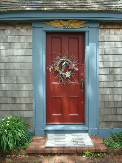 Cape Cod Exterior Door And Color Scheme I Think This