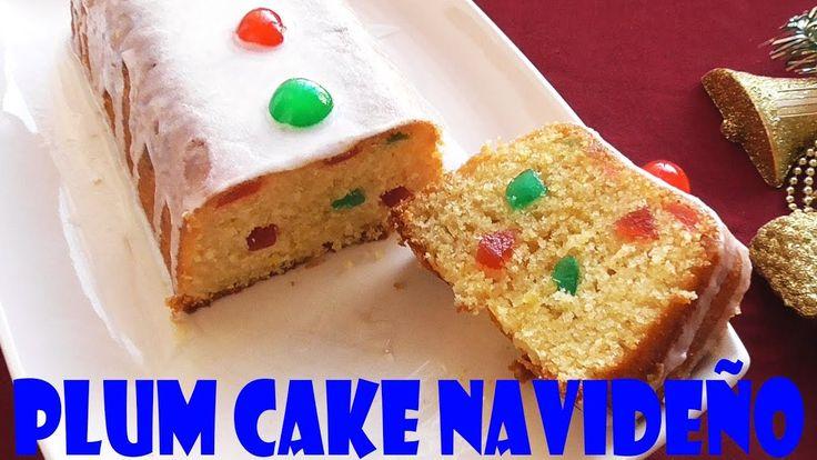 PLUM CAKE O BUDÍN INGLÉS (NAVIDEÑO)
