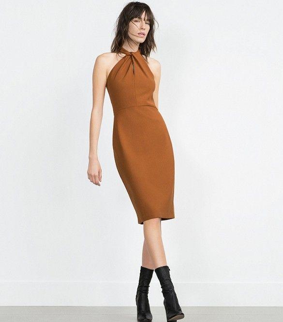 Long Tube Dress, ZARA