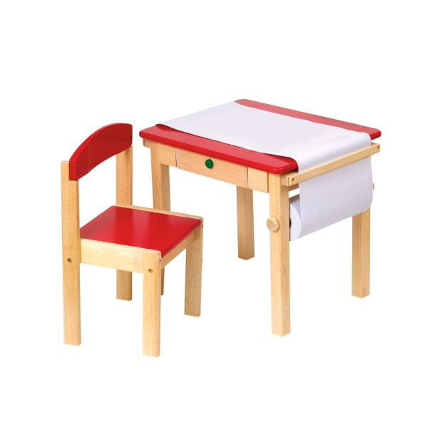 Guidecraft Art Table And Chair Set   Give Your Child Their Very Own Spot  For Drawing Pictures And Much More. The Guidecraft Art Table And Chair Set  Is Made ...