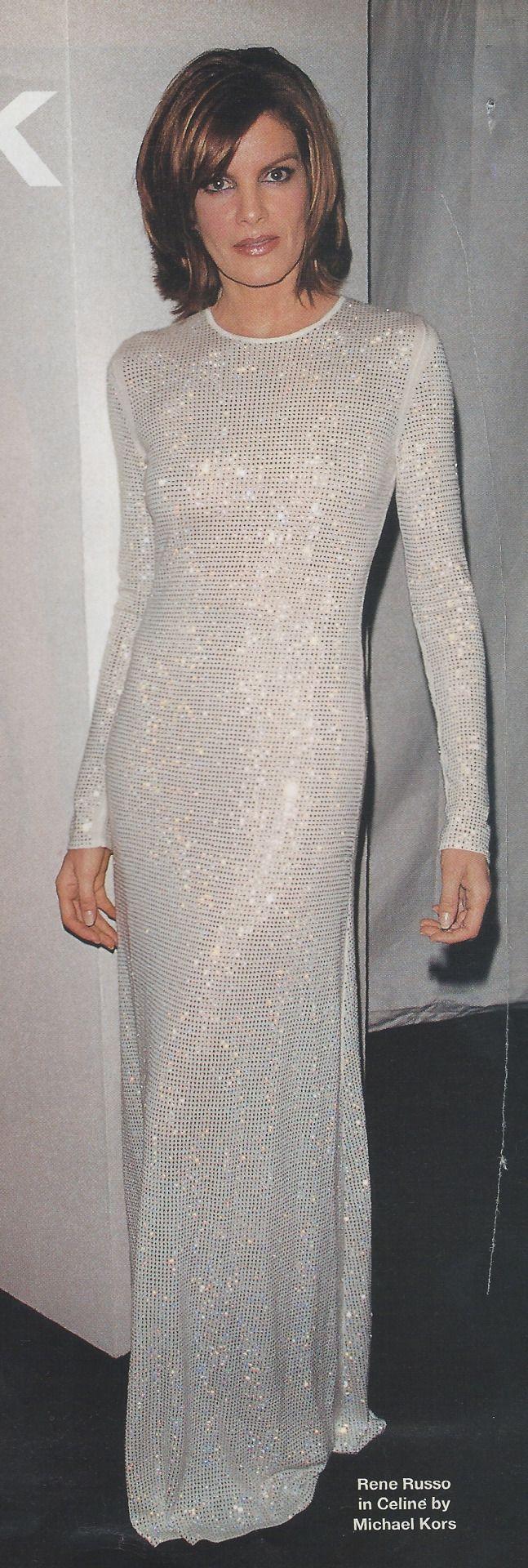 Rene Russo in Céline by Michael Kors, 1999 aka my future wedding dress