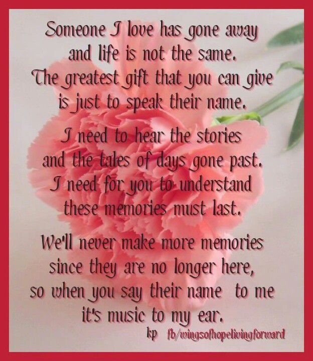 Lots of loved ones gone loved ones gone but not - My love gone images ...