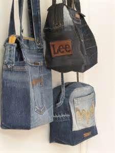 Handkraft & Återbruk - recycling jeans   Jeans-denim bags   Pinterest