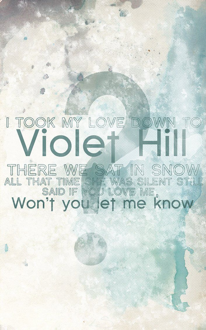Coldplay - Violet Hill <3
