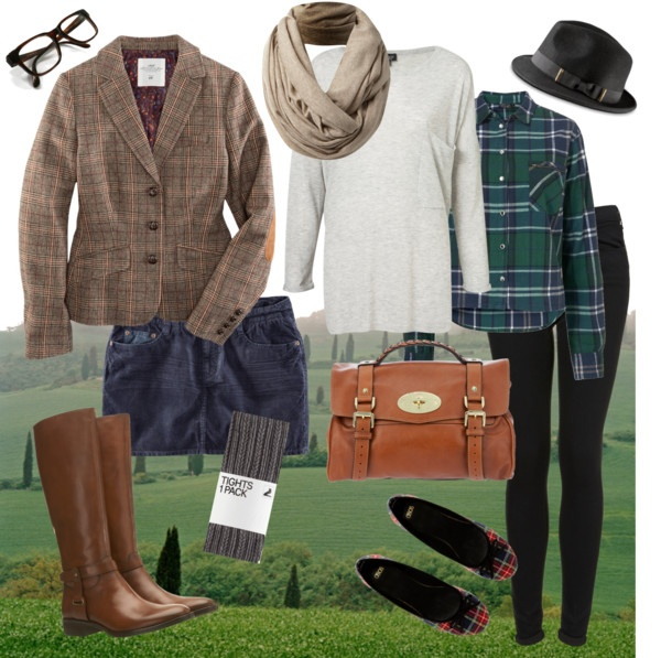Duchess Roz posted this on her beauty blog under British fashion and I love all the plaids!!! ;)