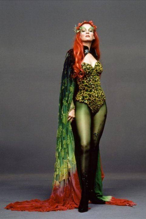 Uma Thurman as Poison Ivy (Best Batman costume ever!)