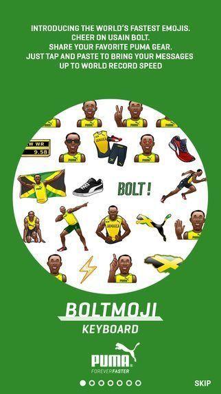 Bolt emoji's