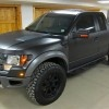 Currently viewing : Ken Blocks Murdered Out 2011 Ford Raptor – Front Angle