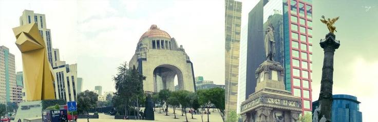 Landmarks, mexico city