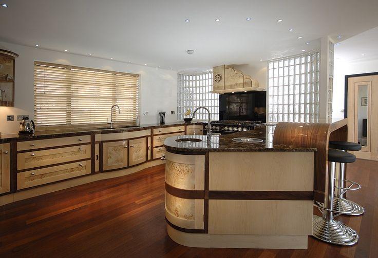 ART DECO KITCHENS | art deco kitchen this beautiful bespoke art deco commission was ...