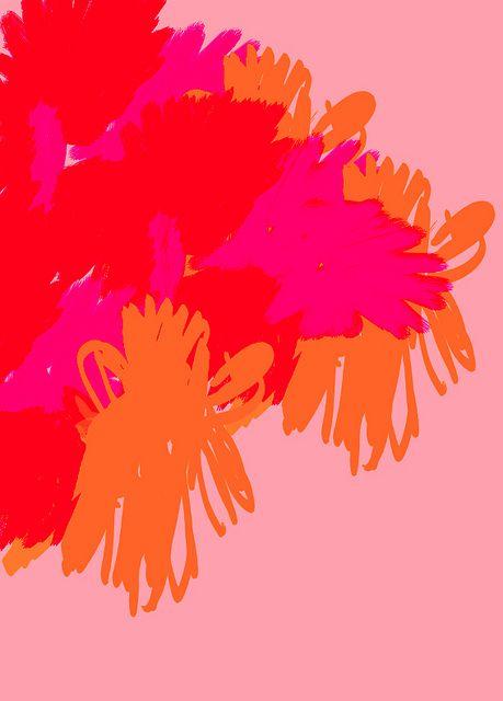 pink pinker pinkest -- soft and bold, plus orange