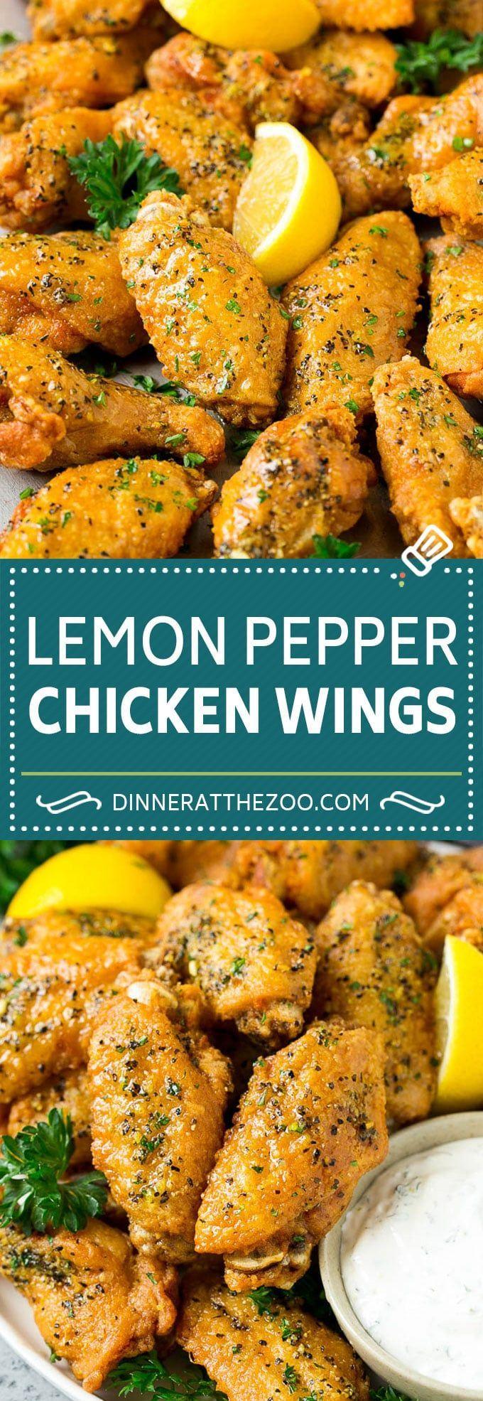 Lemon Pepper Wings Recipe | Lemon Pepper Chicken | Fried Chicken Wings #chicken …
